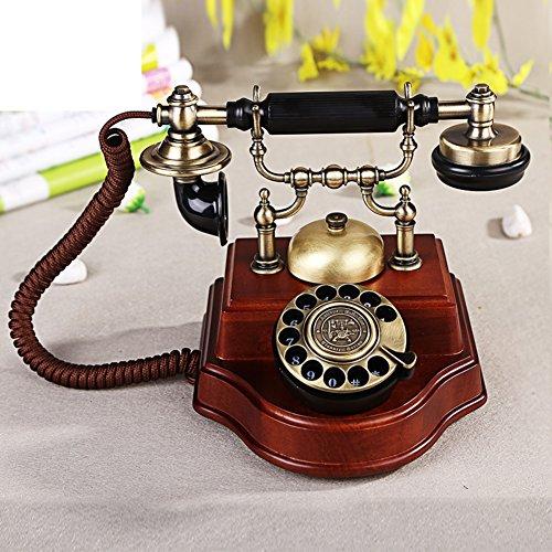 yaya-antiquite-europeenne-fixe-telephones-bois-cadrans-de-telephone-telephones-retro-accueil-b
