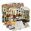 12 Bier Spezialitäten aus Deutschland (Die besten deutschen Biere) als Probierpaket zum verschenken in Geschenkverpackung 12 x 0,33l / romantisches Valentinstag Geschenk für Freund Ihn Mann Männer