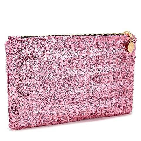New Arrival Dazzling Glitter Sparkling Bling Sequins Evening Party Bag Handbag Clutch