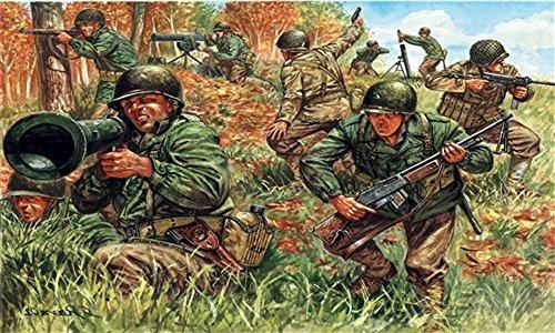 Italeri 6046 - wwii american infantry scala 1:72
