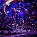 Sternenhimmel Projektor, Omitium LED Nachtlicht Sternenprojektor 360¡ã Rotierend Projektionslampe Romantische Sternenhimmel LED Projektor Perfekt f¨¹r Parteien,Kinderzimmer,Weihnachten