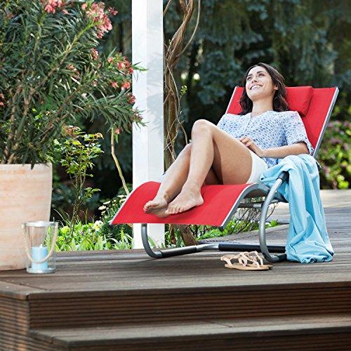 Blumfeldt Sunwave • Gartenliege • Sonnenliege