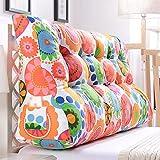 LJHA Kissen lumbale Kissen Sofa gepolsterte Rückenlehne große Taille Kissen im Bett (Farbe : D, größe : 150cm)