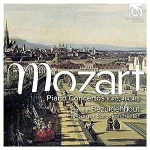 Mozart: Piano Concertos K413, 414, 415