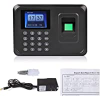 MegaDeal Realtime Biometric Fingerprint Based Time and Attendance System (15.8 x 2.5 x 13 cm, Black)