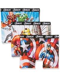 Marvel Packx3, Boxer Homme, (lot de 3 )