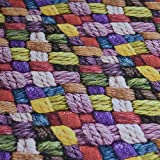 Wolle Foto digital bedruckt farbiges Baumwolle Vorhangstoff