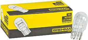 Brehma 10x Glassockellampe W21 5w 12 Volt 21 5 Watt W3x16q Auto