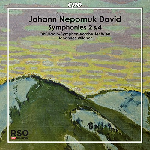 Johann Nepomuk David : Symphonies n° 2 et 4. Wildner.