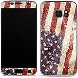 Samsung Galaxy S7 Case Skin Sticker aus Vinyl-Folie Aufkleber United States of America Amerika USA Flagge