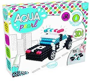 Unbekannt aladine 47017-Aqua Pearl Policía Auto Juego de Manualidades