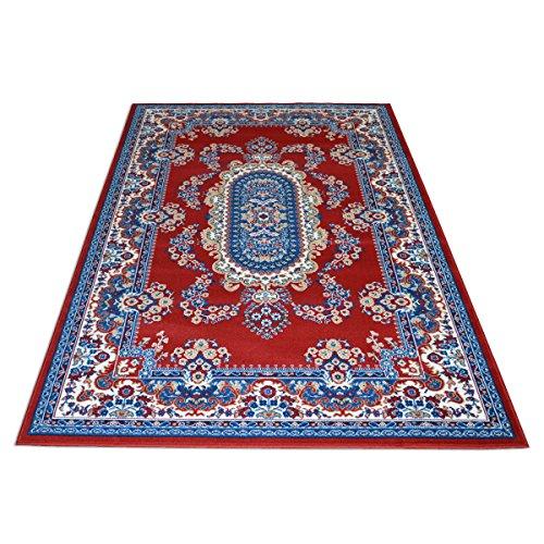 WEBALFOMBRAS Alfombra Estilo Persa Clasico Muchas Diferentes Medidas - Color Rojo Royal Shiraz 2063-RED 160x230