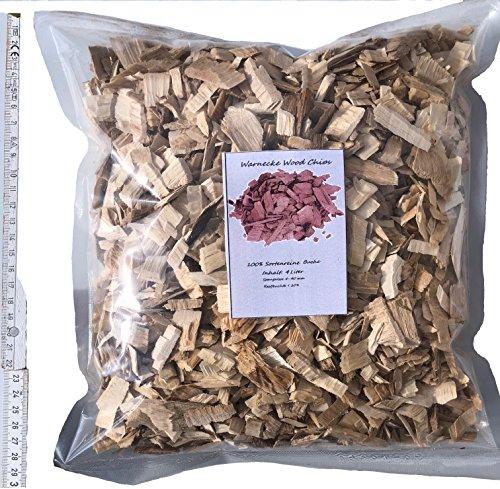 Wood Chips 7 L 1,5 kg de hêtre de fumage pour barbecue et fumoir BBQ