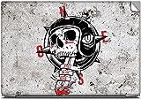 Biker Skull with Helmet High Quality pri...