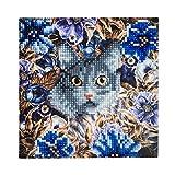 Craft Buddy Kristall-Grußkarten-Kit, 5D-Schmucksteinverzierung für Grußkarte, Bastelpackung A4 -