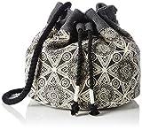 Volcom Damen Cant Be Tamed Bucket Handtasche Henkeltasche, Schwarz (Black), 5x23x36 cm