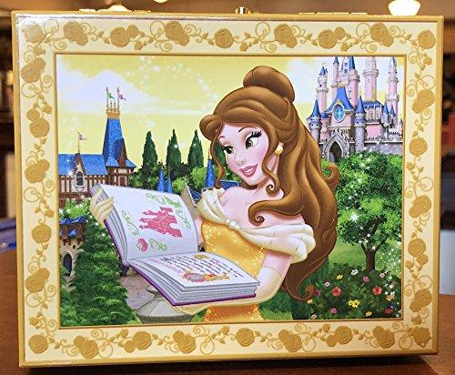 Parques de Disney hermosa Belle Musical joyería Caja Música belleza y la bestia