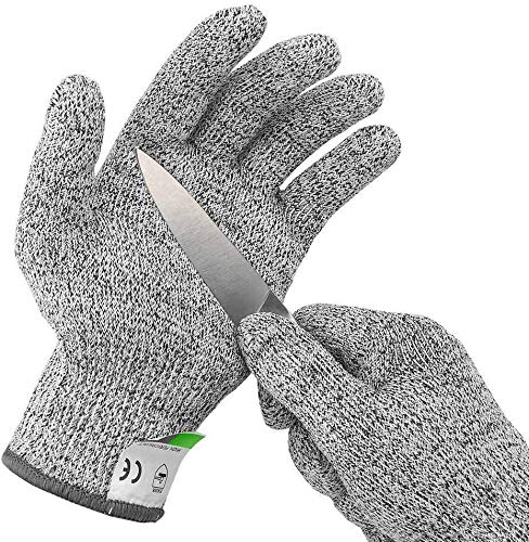 CLOMANA® Cut Resistant Gloves for Protection from Knives Scissors Vegetable Peelers