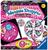 Ravensburger - 29745 - Loisir Créatif - Monster High - Mandala 2 en 1