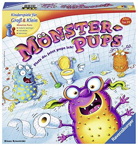 Preisvergleich Produktbild Ravensburger 22329 - Monster-Pups Kinderspiel