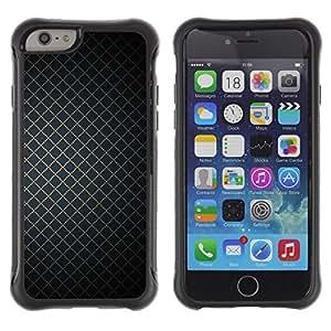 Weich TPU GEL Silikon HandyHülle Tasche Schutzhülle Hülle Für Apple Iphone 6 / CECELL Phone case / / Wallpaper Geometrical Square Simple Design /