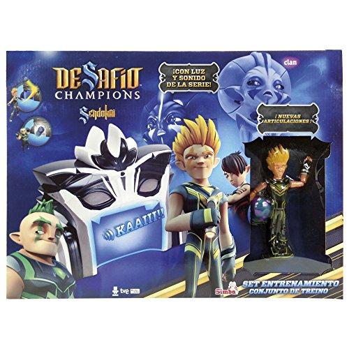 Desafío Champions Sendokai - Set Entrenamiento Cronsen Edition, (el personaje incluido puede variar del mostrado en la imagen) (Simba 9412026)
