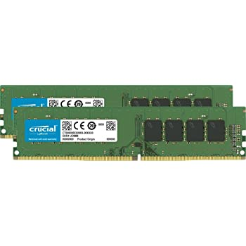 Crucial CT2K8G4DFD8213 16Go Kit (8Gox2) (DDR4, 2133 MT/s, PC4-17000, DR x8, DIMM, 288-Pin)