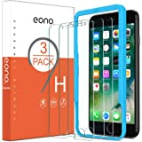 Amazon Brand-Eono [3 Pack] Screen Protectors for iPhone SE 2020/iPhone 8/ iPhone7/ 6s / 6, Tempered Glass with 9H-Hardness, C