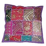 albena shop 72-11 indisches Dekokissen Kissenbezug (Leyla lila)