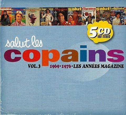 Salut Les Copains : 1969/1976 Les Années Magazine /Vol.3 (Coffret