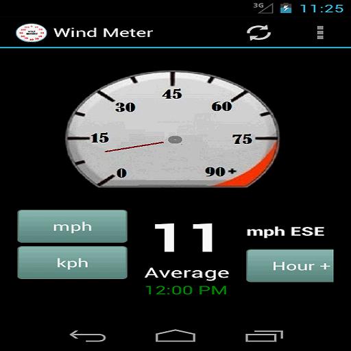 Wind Meter II (Wetter Meter Anemometer)