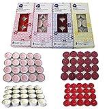 Duft - Teelicht 160 Stück verschiedene Varianten wählbar - Farblich sortiert - Duft - Duftteelicht...