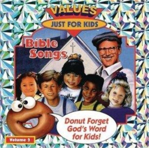 donut-man-bible-songs-vol-2-integrity-music-by-values-just-for-kids-1999-audio-cd