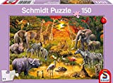 Schmidt Animals of Africa Children's Jigsaw Puzzle (150-Piece)