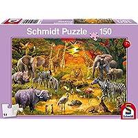 Schmidt Animals of Africa Children's Jigsaw Puzzle (150-Piece)