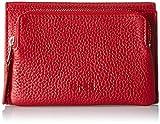 BREE Damen Liv 135, Brick Red, Flap Wallet M Geldbörse, Rot, 3x9x14 cm