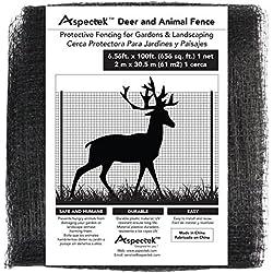 Filet Protection Jardin 2 X 30m - Filet Cloture pour Protéger Jardin et Arbres des Animaux (noir)