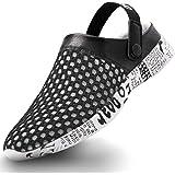 Gaatpot Femmes Hommes Sandales Sabots Été Mules Chaussure Hopital Sandale de Plage Unisexe Adulte Pantoufles de Jardin Chauss