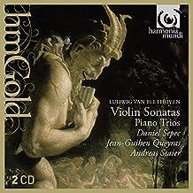 Beethoven:Sonatas para violin/Trios para piano