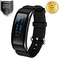 OMNiX™ DF23 Bluetooth 4.0 Smart Bracelet Heart Rate Monitor IP68 Waterproof Swimming Sports Tracker Anti-Lost for Android iOS
