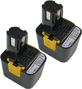 2x Premium AKKU Ni-Mh 7,2V 3300mAh ersetzt Panasonic EZ9065 EZ9066 EZ9165 PA724