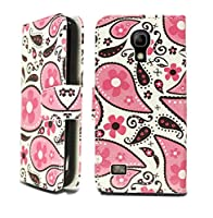 Samsung Galaxy S4 Mini / i9190 Leather Book Flip Wallet Case Cover