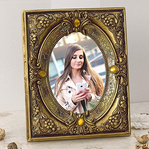 Barroco Marco de fotos hojas oro 13x 18cm