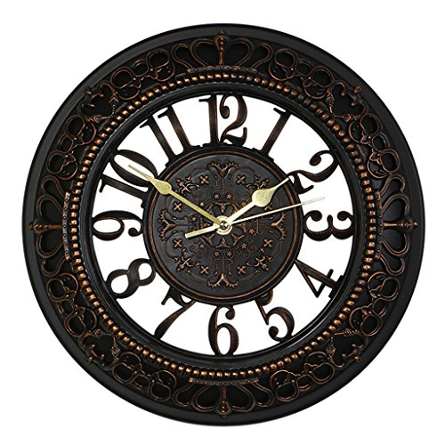 black-vintage-wall-clock-foxtop-12-inch-easy-reading-silent-see-through-retro-wall-clock-for-kitchen
