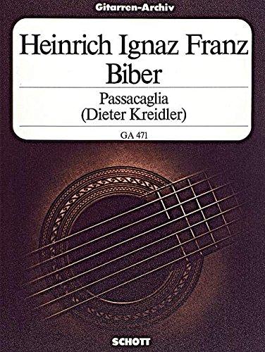 Passacaglia: Gitarre. (Gitarren-Archiv)