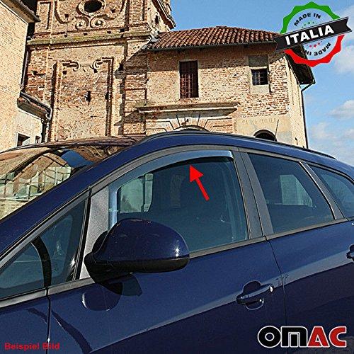 Omac GmbH Renault Megane Coupe 3 TRG Windabweiser Regenabweiser 2 TLG Satz vorne ab 2008