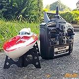 Ferngesteuertes Schiff RC Speedboot Racing Boot Sportboot Rennboot JX001 46 cm