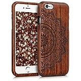 kwmobile Apple iPhone 6 / 6S Hülle - Handy Schutzhülle aus Holz - Cover Case Handyhülle für Apple iPhone 6 / 6S