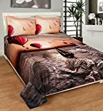 Bed & Bath Polycotton Queen bedsheet wit...