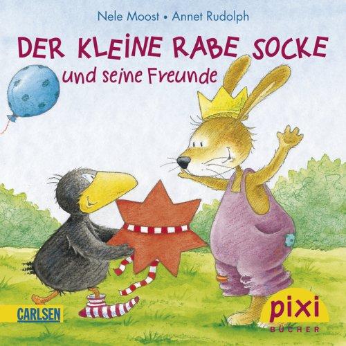 Pixi-Bundle 8er Serie 193: Der kleine Rabe Socke (Pixi-8er-Set, Band 193) - 8